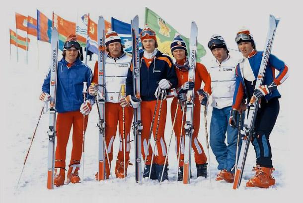 Владимир андреев член сборной команды по горным лыжам